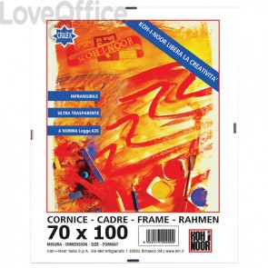 Cornice a giorno in crilex Koh-i-noor - 70x100 cm - DK70100C
