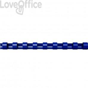 Dorsi plastici FELLOWES blu 53499 (conf. 50 pezzi)