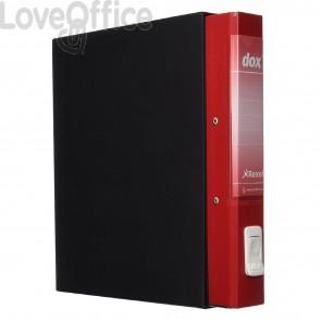 registratore rosso con custodia