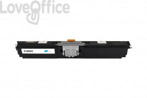 Toner Compatibile per Epson Aculaser 1600/CX16 series Ciano C13S050556 - 2700 Pagine