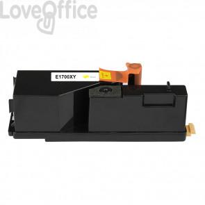 Toner Compatibile C13S050611 per Epson AcuLaser C1700/C1750/CX17 Giallo series - 1400 Pagine