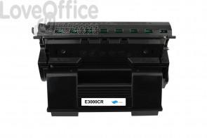 Toner Rigenerato Epson EPL-N3000 - C13S051111 Nero - 17000 Pagine