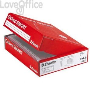 Buste a perforazione universale Esselte - Deluxe lucida - 6 pack x 50 - 22x30 cm (conf.300)