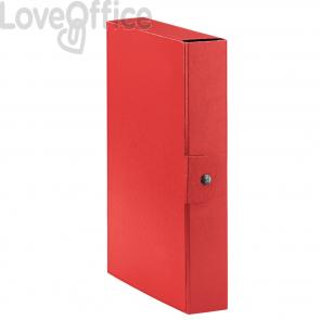 Scatole portaprogetti Eurobox Esselte - dorso 6 cm - 25x35 cm - rosso (conf.5)