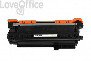 Toner Compatible HP 507A/504A - CE402A/CE252A giallo - 7000 pagine