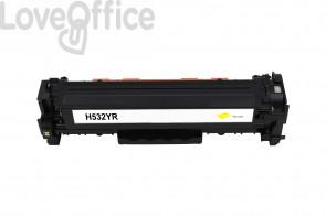 Toner Rigenerato HP 304A - CC532A Giallo - 2800 pagine