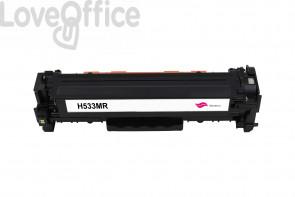 Toner Rigenerato HP 304A - CC533A Magenta - 2800 pagine