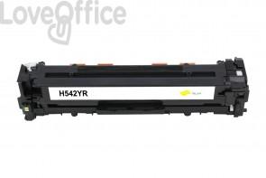Toner HP CB542A(125A) giallo compatibile