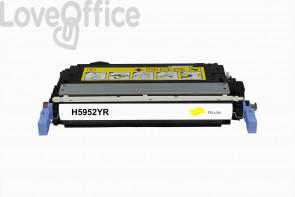 Toner Rigenerato HP 643A - Q5952A Giallo - 10000 pagine