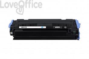 Toner Rigenerato HP 124A - Q6001A Ciano - 2000 pagine