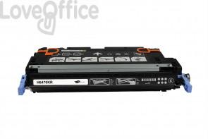 Toner Rigenerato HP 501A - Q6470A Nero - 6000 pagine