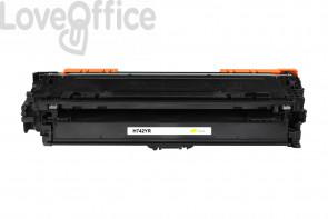 Toner Rigenerato HP 307A - CE742A Giallo - 7300 pagine