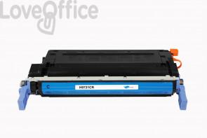 Toner Rigenerato HP 641A - C9721A Ciano - 8000 pagine