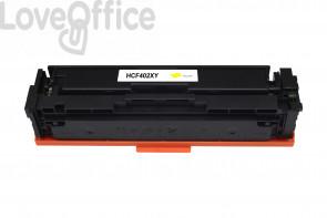 Toner HP 201X - CF402X Giallo - 2300 pagine