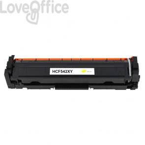Toner HP CF542X (203X) giallo compatibile