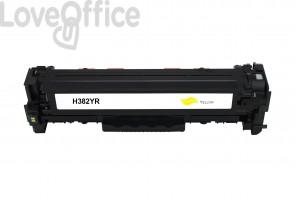 Toner HP CF382A (312A) giallo compatibile