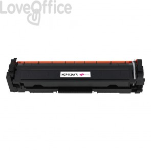Toner Rigenerato HP 410A - CF413A magenta - 2300 pagine