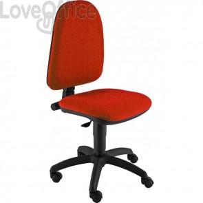 Sedia da ufficio eco-smart JUPITER UNISIT - polipropilene - rosso