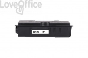 Toner Compatibile TK-120 Nero kits Kyocera - 7200 Pages