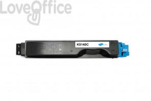 Toner Compatibile TK-5140C Ciano kits Kyocera 5000 Pagine