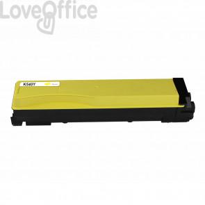 Toner Compatibile TK-540Y giallo kits Kyocera FS-C5100DN - 4000 Pagine
