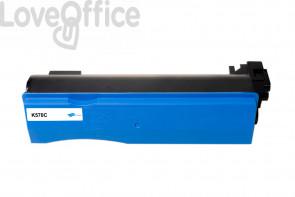 Toner Compatibile per TK-570C Ciano kits Kyocera - 12000 Pagine