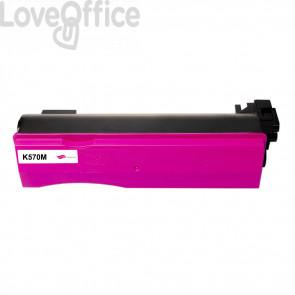 Toner Compatibile per TK-570M Magenta kits Kyocera - 12000 Pagine