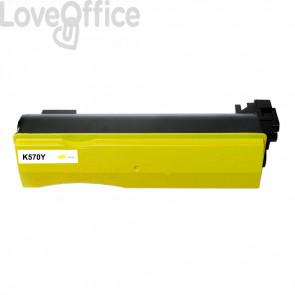 Toner Compatibile per TK-570Y Giallo kits Kyocera - 12000 Pagine