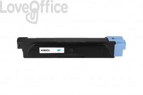 Toner Compatibile Kyocera TK-590C/TK-580C Ciano - 5000 Pagine