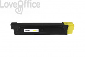 Toner Compatibile Kyocera TK-590Y/TK-580Y Giallo - 5000 Pagine