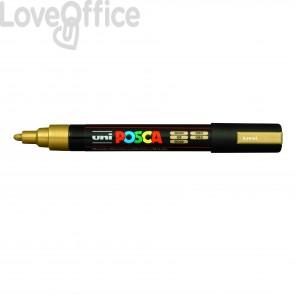 Pennarello Uniposca a tempera - Uniposca oro Uni-Ball - tonda - 1,8-2,5 mm