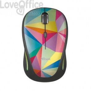 Mouse wireless Trust Yvi FX geometrics