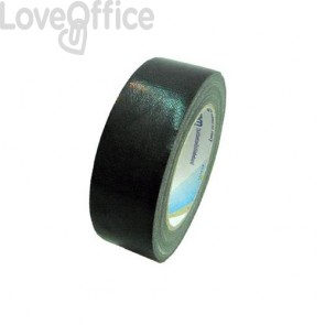 Syrom nastro adesivo in tela nero Tes 702 Special - 38 mm x 25 m