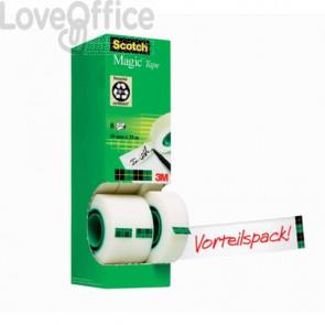 Value Pack nastro adesivo Scotch® Magic™ 810 - 19 mm x 33 m (conf.8)