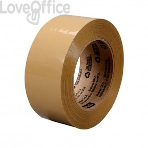Nastri da imballo Scotch® 371 - poco rumoroso - PPL - 50 mm x 66 m - avana - 48 my (conf.6)