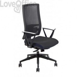 Sedia semidirezionale ergonomica NEREIDE UNISIT - ignifugo