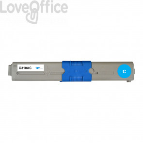 Toner Compatibile 44469706 Ciano kits OKI - 2000 Pagine