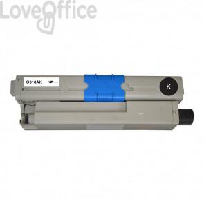 Toner Compatibile 44469803 Nero kits OKI - 3500 Pagine
