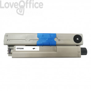 Toner Compatibile 46508712 Nero Toner kits OKI - 3500 Pagine