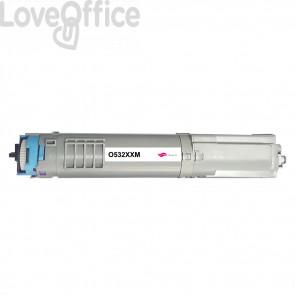 Toner Compatibile 46490606 Magenta kits OKI - 6000 Pagine