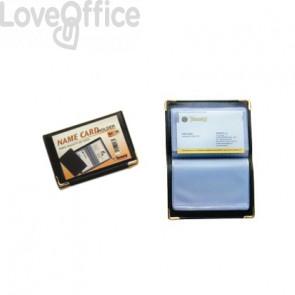Portabiglietti da visita tascabili Tecnostyl - 36 biglietti 7,5x11 cm