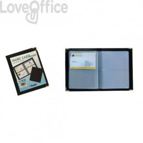 Portabiglietti da visita tascabili Tecnostyl - 64 posti - 11x14 cm (16 pagine)