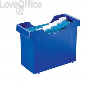 Archivio per cartelle sospese Leitz Plus - blu