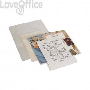 Pouches per plastificatrice Q-Connect 2x125 µm finitura lucida A3 (conf.100)