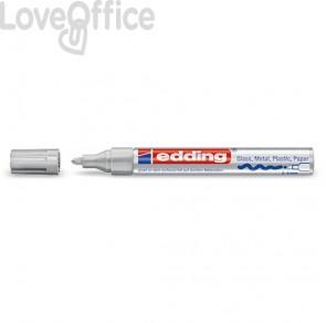 Pennarello a vernice argento - Edding 750 - tonda - 2-4 mm