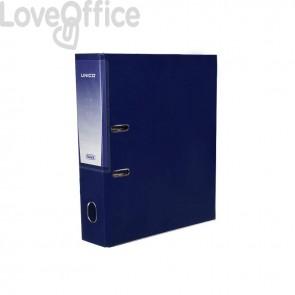 Registratore legale Unico con chiusura Elba - Dorso 8 - 23x33 cm - blu