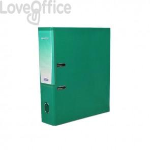 Registratore legale Unico con chiusura Elba - Dorso 8 - 23x33 cm - verde