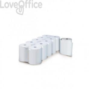 Rotoli registratore di cassa Rotolificio Pugliese Evoroll lunga durata 60mmx60m foro 12 mm (conf.10)