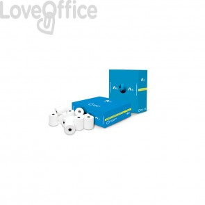 Rotoli registratore di cassa Rotolificio Pugliese Exclusive 60 mm x 60 m foro 12 mm (conf.10)
