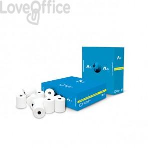 Rotoli registratore di cassa Rotolificio Pugliese Exclusive 80 mm x 80 m foro 12 mm (conf.10)